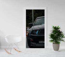 Deurposter - deursticker Ford Mustang