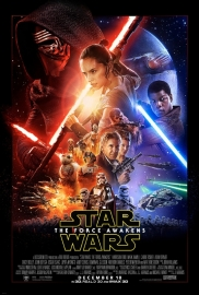 Poster, Star Wars The Force Awakens, episode VII