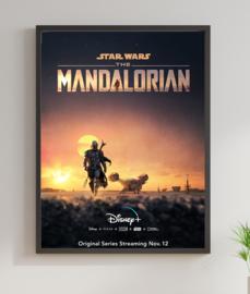 Poster Star Wars - The Mandalorian Dusk