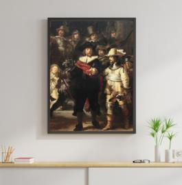 Poster De Nachtwacht - Rembrandt van Rijn