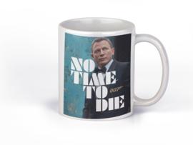 Bedrukte mok James Bond | No time to Die | beker 330 ml