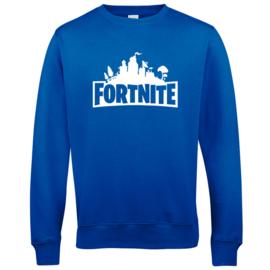 Sweater - trui Fortnite. In royal blue