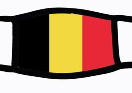 Sublimatie mondkapje met Belgische vlag
