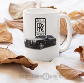 Mok  met afbeelding Rolls Royce