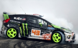 Poster, Monster Fort Fiesta RS WRC