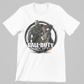 T-shirt wit Call of Duty black OPS III