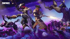 Poster Fortnite Zombie - Gameposter