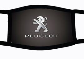 Sublimatie mondkapje met Peugeot print, in 3 maten