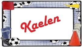 Mok voetbal (I) met eigen naam