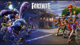 Poster Fortnite Battle - Gameposter
