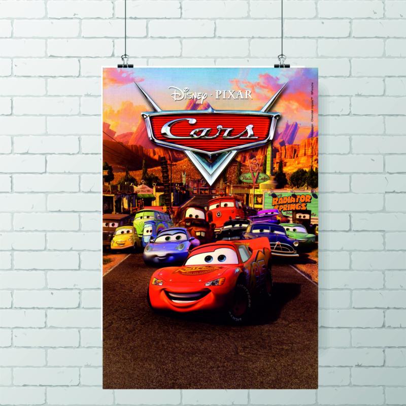 Poster Cars Bliksem McQueen, Disney