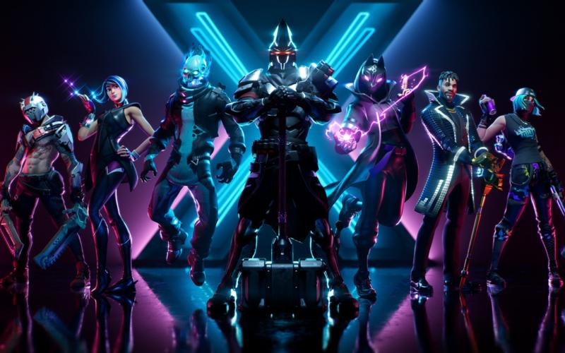 Poster Fortnite Season x / seizoen 10 - gameposter