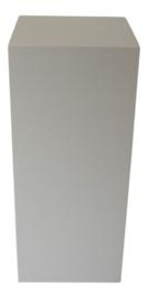 Zuil hoogglans wit 30x30x120 cm