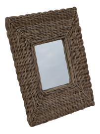 Rotan spiegel 62x86