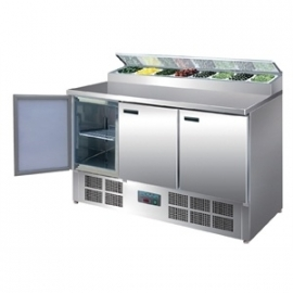 G605 - Polar gekoelde pizza/salade prepareer counter 390ltr