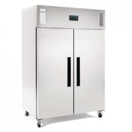 G594 - Polar 2-deurs koelkast RVS 1200ltr