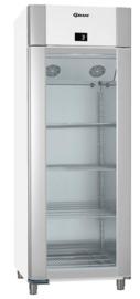 960830361 - Gram ECO TWIN KG 82 LAG glasdeur koelkast - 2/1 GN - enkeldeurs - wit
