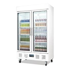 CD984 - Polar display koeling 1030 liter Twee deuren met glas