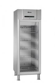 866140281 - Gram COMPACT glasdeur koelkast 2/1 GN - COMPACT KG 610 RH 60HZ LM 5M - enkeldeurs - RVS