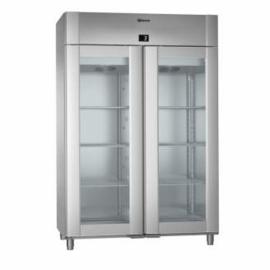 961430341 - ECO PLUS KG 140 RAG - 2-deurs display koelkast - Vario Silver-RVS - 2/1 GN GRAM
