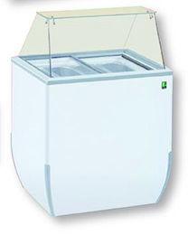 BRIO ICE - SCHEPIJSTOONBANK VOOR 4 X 5L ICE CREAM BAKKEN TOPCOLD