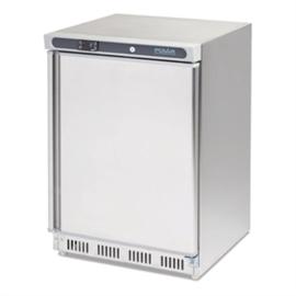 CD081 - Polar RVS bewaarvriezer 140ltr - Afmeting 85(H)x60(B)x60(D)cm