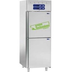 AF2T/L2 - Koelkast en koelkast voor vis 2x350 liter, 2x 1/2 deuren GN 2/1 en 1/1 DIAMOND