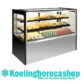GG217 - RVS display vitrine 400 ltr POLAR