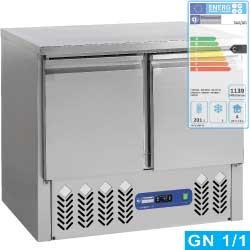 SA2/GD - Koelwerkbank 2 deuren GN 1/1, 240 liter DIAMOND