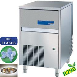 ICE115AS-R2 - Korrelijsmachine 113 kg met lucht koeling plus 30 kg reserve DIAMOND HORECA