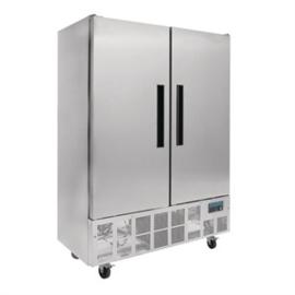 GD879 - Polar 2-deurs slimline RVS koeling 960ltr