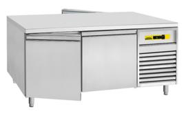 46710151001-D-0-W - KTM 1810 GN-FLEX KOELWERKBANK, bedrijfsklaar, 2 + 2 deuren corpushoogte: 660 mm, diepte: 820 mm NORDCAP