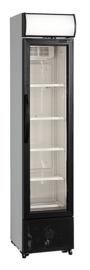 435700175 - Bedrijfskoelkast, horeca met circulatiekoeling, bedrijfsklaar met glazendeur NORDCAP KU175G-SP