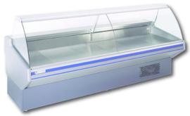 VPPLUSSTAT150VG - STATISCHE KOELToonbank VIPERPLUS 1510mm VALLEND GLAS -topcold