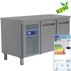 MR2/R2 - Koelwerkbank, geventileerd, 2 deuren GN 1/1 (260 Lit.) DIAMOND