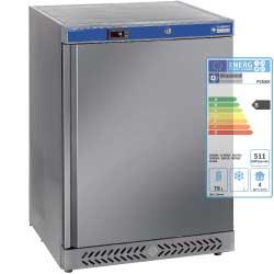PV200X - Koelkast geventileerd, 150 liter. Buitenkant R.V.S.