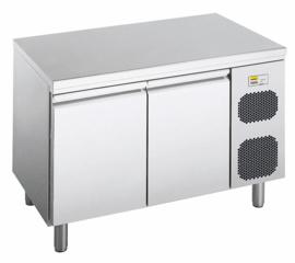 474600400501 - BKT-M 2-800 Patisserie koelwerkbank, bedrijfsklaar model met 2 deuren corpushoogte: 850 mm, diepte: 800 mm voor Euronorm 600 x 400 mm NORDCAP