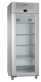 960830311 - Gram ECO TWIN KG 82 CCG glazendeur koelkast - 2/1 GN - enkeldeurs - RVS
