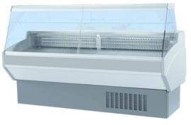 AT25VP - GEKOELDE TOONBANK ATENA RECHTE RUIT - 2500mm - STATISCH topcold
