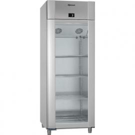 960830341 - Gram ECO TWIN glasdeur koelkast - 2/1 GN - ECO TWIN KG RAG L2 4N - enkeldeurs - Vario Silver