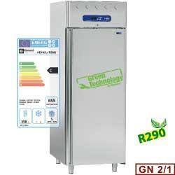 AD1N/L-R2 - Koelkast 700 liter geventileerd, 1 deur GN 2/1 DIAMOND