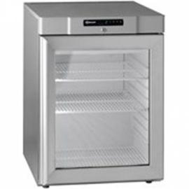 862110441 - Gram COMPACT onderbouw koelkast met glasdeur KG 210 RG 3W - RVS