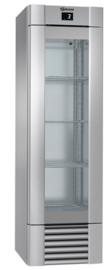 962620011 - Gram ECO MIDI KG 60 CCG 4S glasdeur koelkast RVS - enkeldeurs