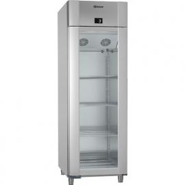 960730341 -Gram ECO PLUS KG 70 RAG L2 4N glasdeur koelkast - 2/1 GN - enkeldeurs - Vario Silver