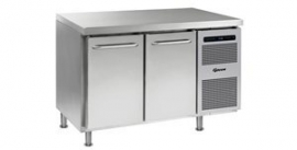 861402104 - Gram GASTRO koelwerkbank 1/1 GN - GASTRO K 1407 CMH AD DL/DR LM - 2 deuren