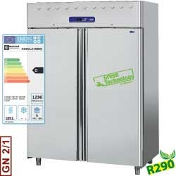 AD2N/L2-R2 - Ventilated refrigerator 1400 liters, 2 doors GN 2/1 DIAMOND