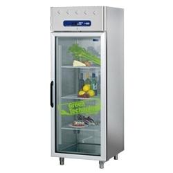 AD1B/LG - Vrieskast 700 liter geventileerd, 1 glazen deur GN 2/1