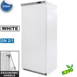 WR-CN600-W - Statische diepvrieskast GN 2/1, 600 liter. R.V.S. DIAMOND