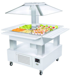 ROLLER C - BUFFET ROLLER COLD 1435 X 1435 X 1540 TOPCOLD