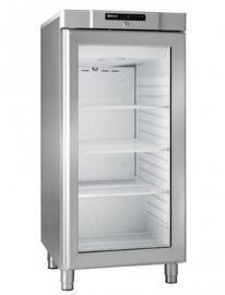 863110441 - Gram COMPACT koelkast met glasdeur - KG 310 RG L1 4W - RVS